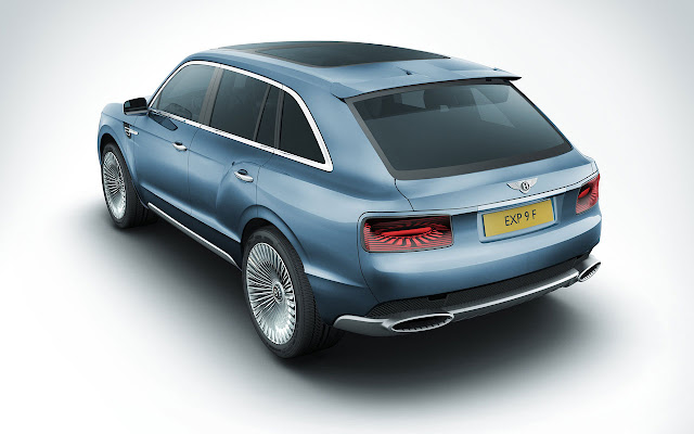 Bentley EXP 9 F SUV back