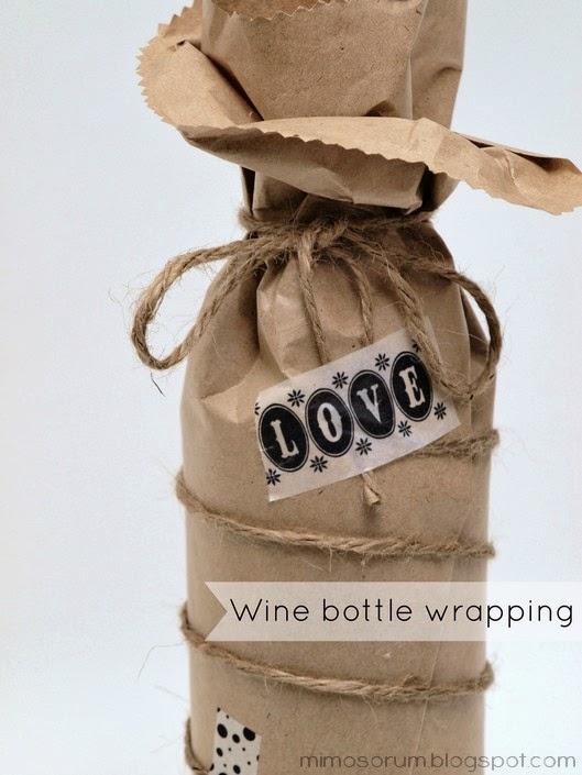 Tutorial: Paso a paso para envolver una botella de vino para regalar