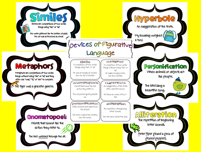simile metaphor hyperbole personification worksheet Termolak – Simile Metaphor Personification Worksheet