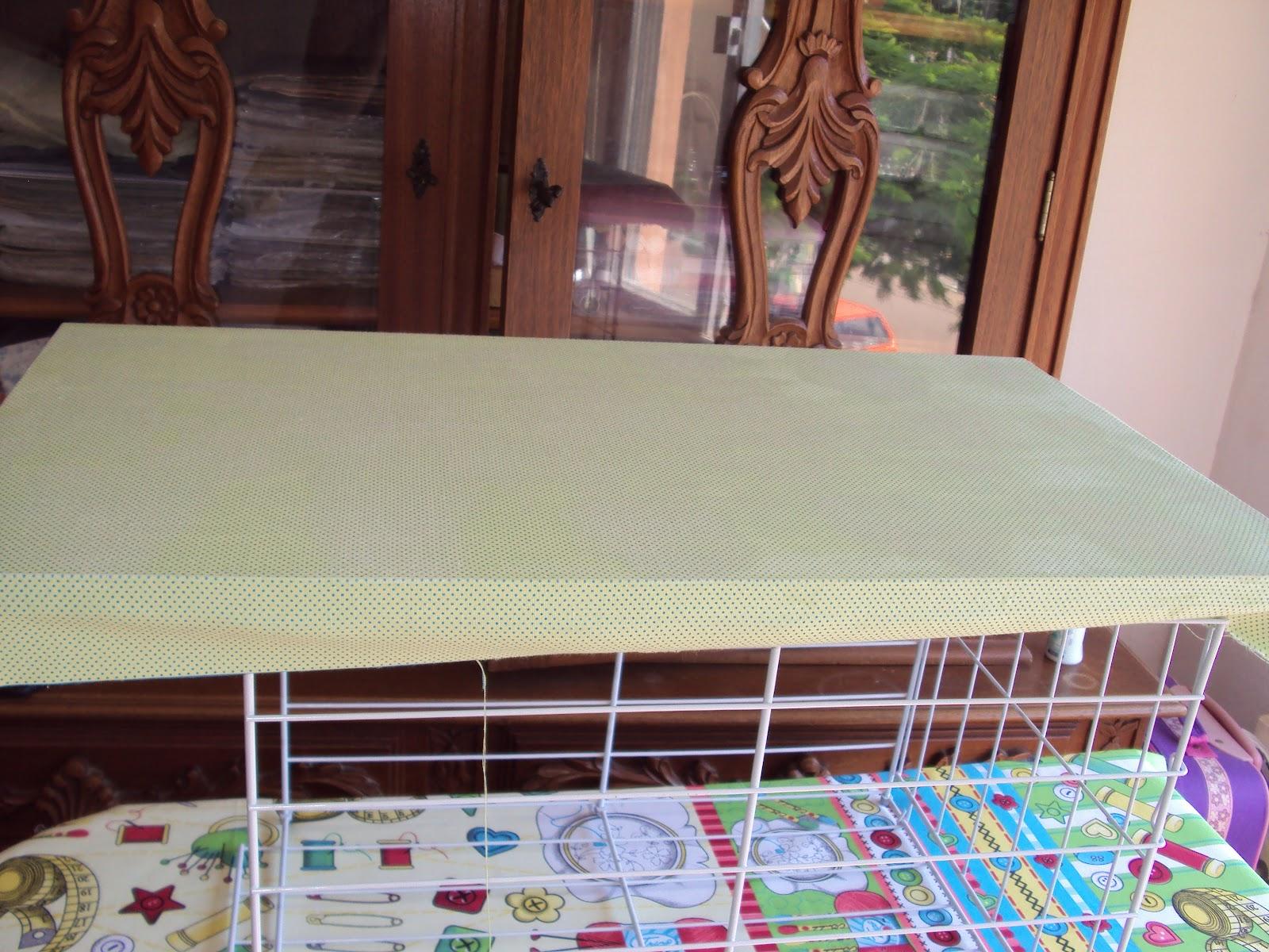 Compass: Mesa de Passar Como aplicar tecido em móveis de madeira #3C748F 1600x1200