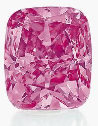 Diamante rosa pulido