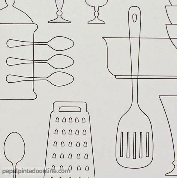Boutique papel pintado papel pintado bluff - Papel pintado para cocinas modernas ...