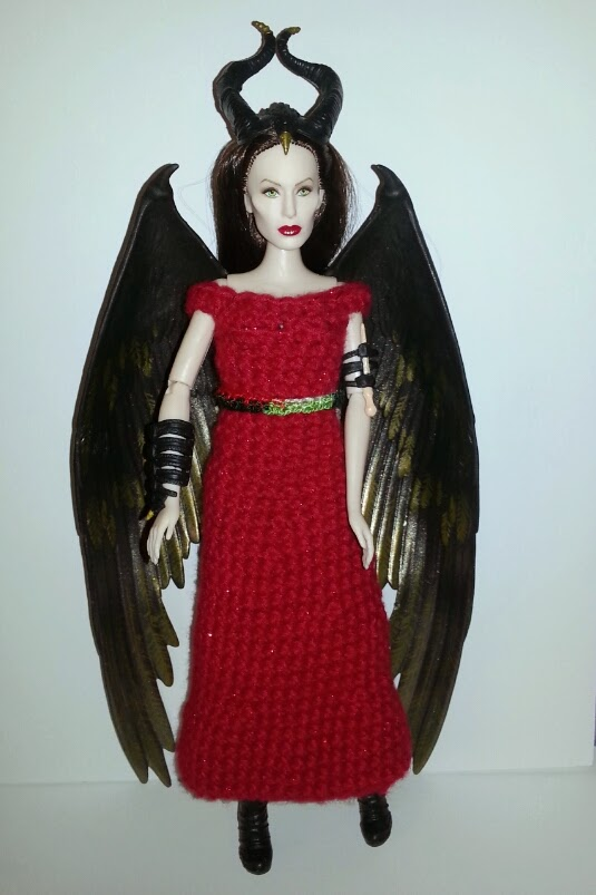 Verse merry christmas from maleficent a free crochet dress pattern