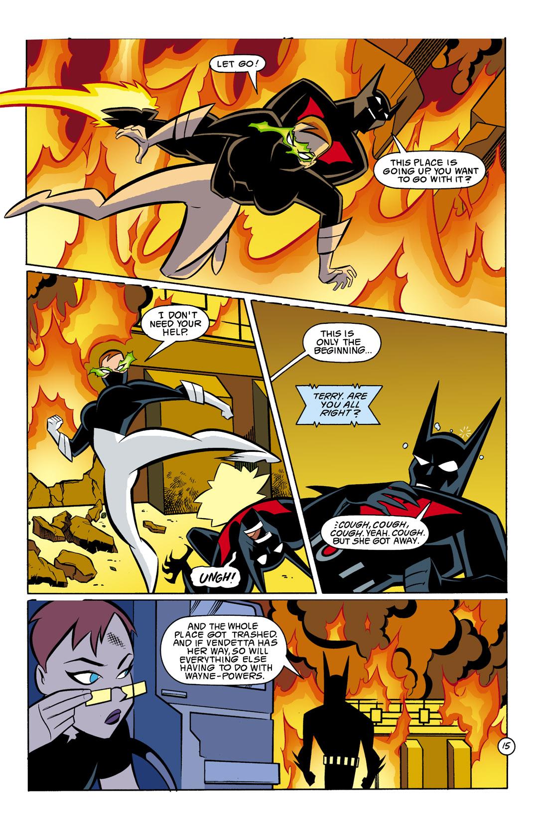 Batman Beyond [II] Issue #8 #8 - English 16