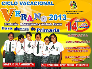 VACACIONES ÚTILES 2013