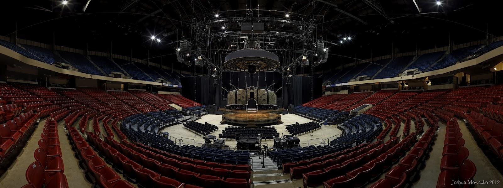 Circus Seating Chart Bridgestone Arena Cirque Du Soleil