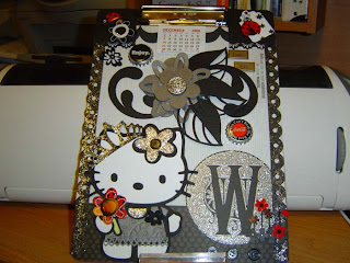 Hello Kitty clipboard