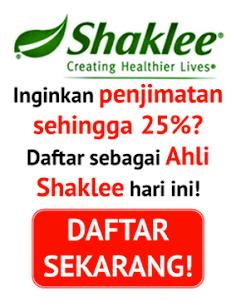 Daftar Ahli Shaklee Online