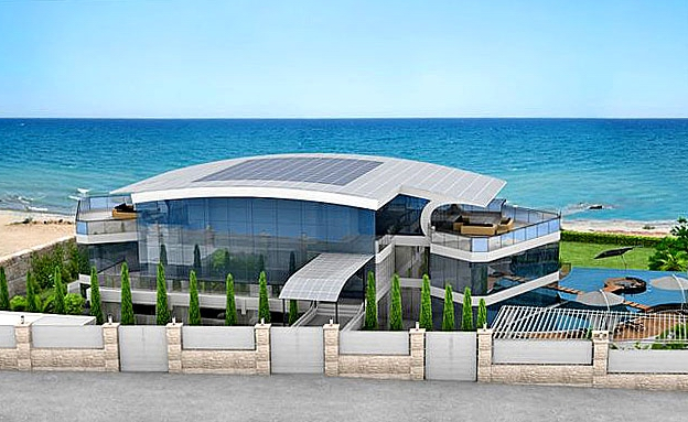 Beach House Design New Home Designs Latest Cyprus Beach House Designs