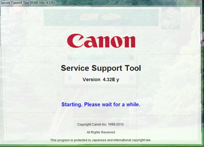 Download Service Tool V  For Canon - Error And Reset