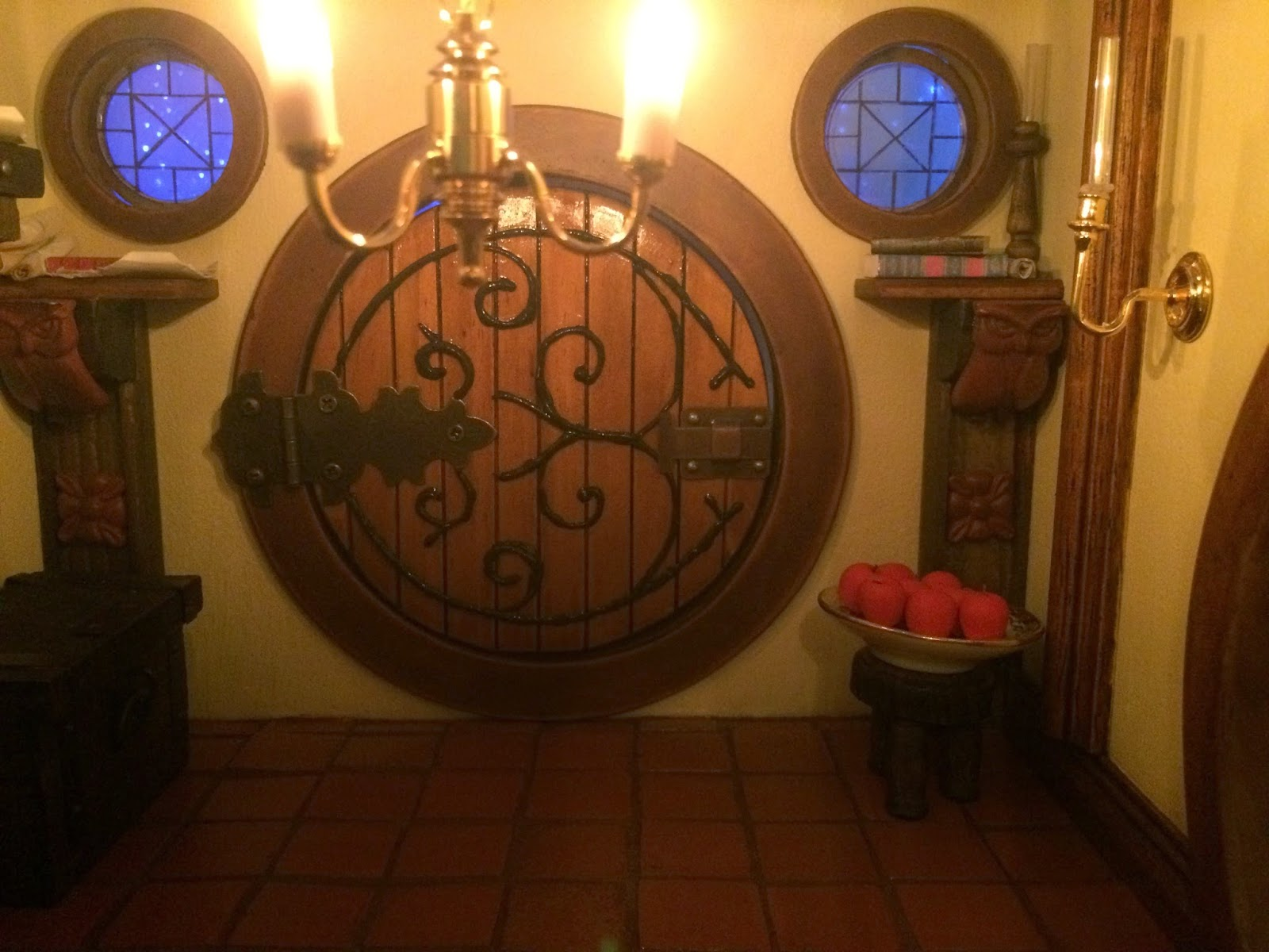 My Hobbit Hole Bag End Entrance Hall