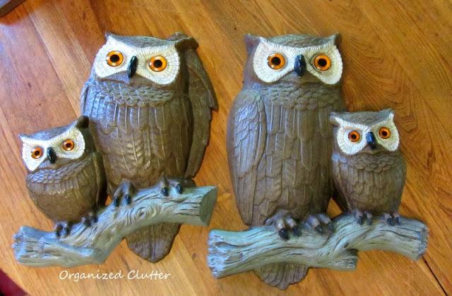 1977 Burwood Owl Plaques