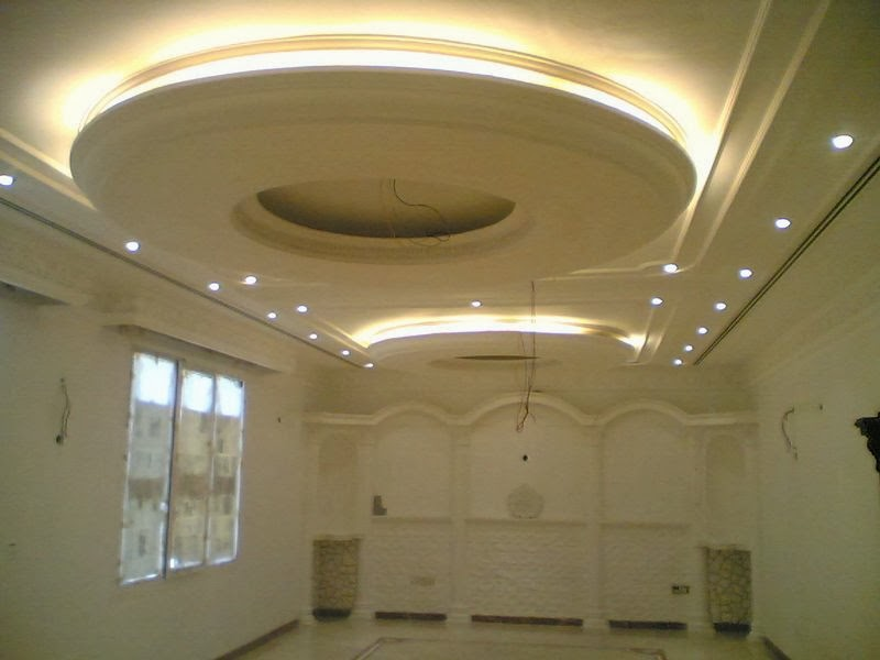 7 gypsum false ceiling designs for living room part 1