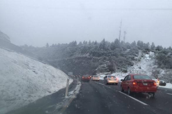 Nieve en autos