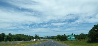 I-5 Oregon landscape