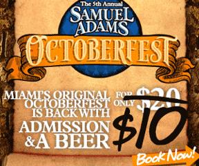 Octoberfest en Miami!