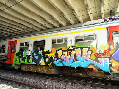 train writing