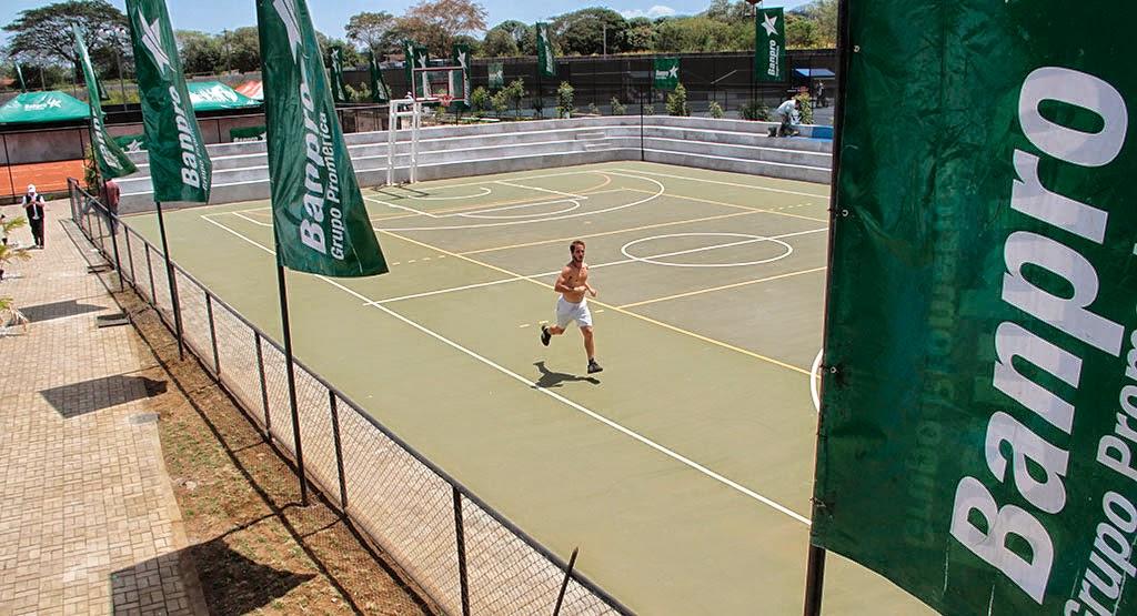 nuevas canchas de tenis en nicaragua