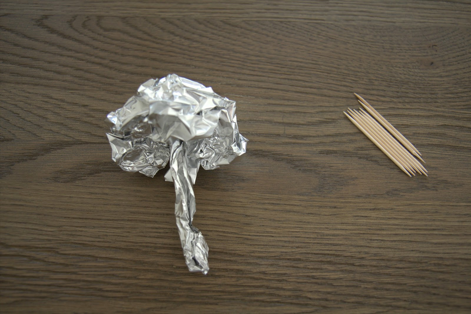 Making Paper Mache Mushrooms - DIY 7
