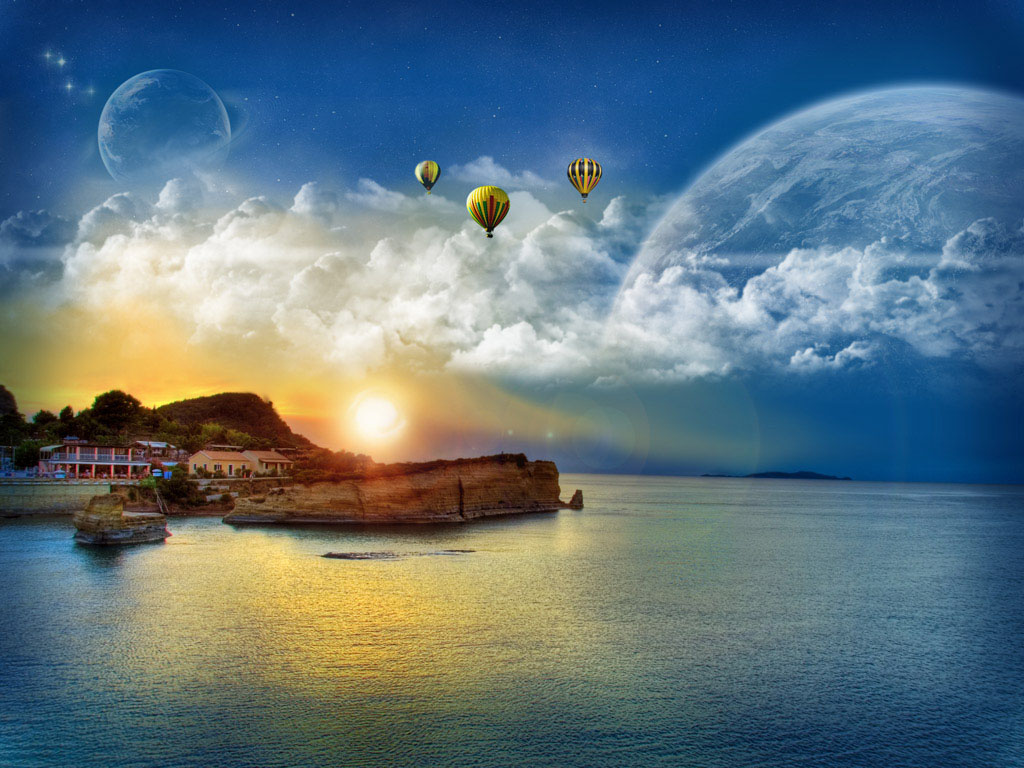 Wallpapers windows 7 fantasy wallpapers for Best windows in the world