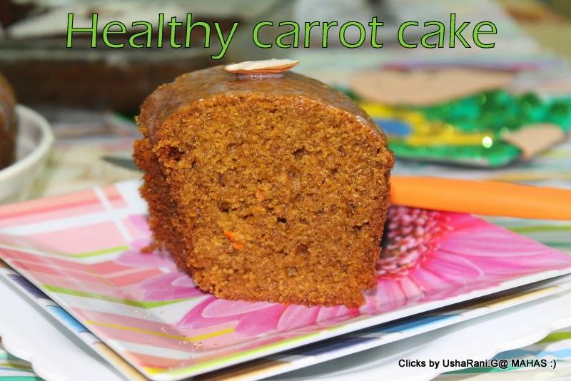 Jar Carrot Cake