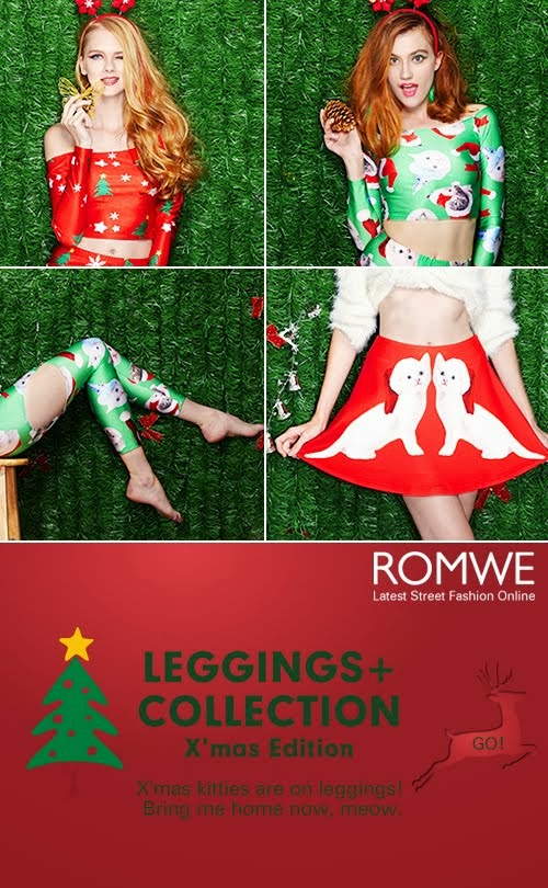 Romwe Christmas collection