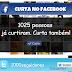 Box Personalizada de Curtir FanPage no Facebook e Seguir no Twitter