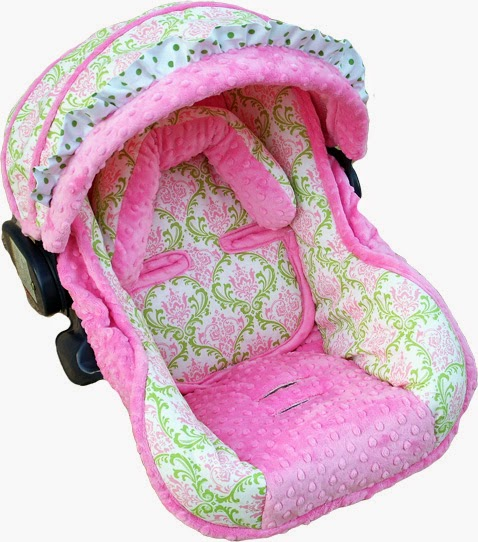 infant car seat covers for girls