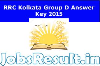 RRC Kolkata Group D Answer Key 2015