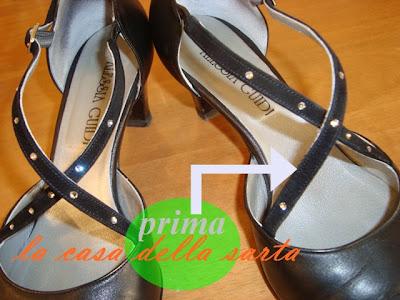 strass su scarpe-reupero