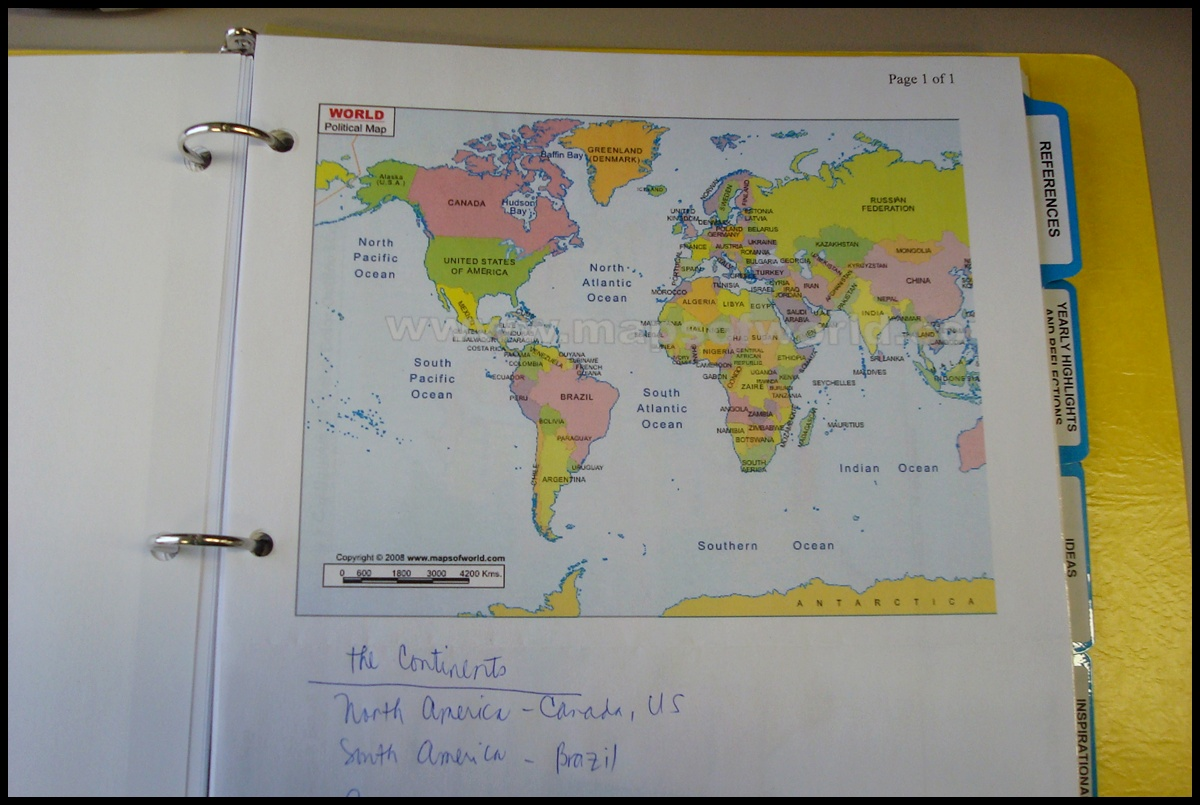 This Randomness Obsession World Map - I need a world map