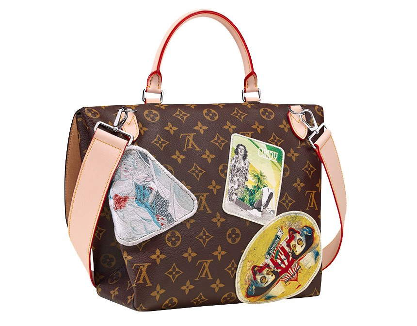 Louis Vuitton's Icon and Iconoclasts Creations Cindy Sherman messenger bag