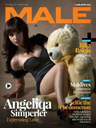 Majalah MALE Mata Lelaki 076 - Angelica Simperler
