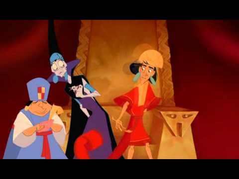 Kuzco Yzma The Emperor's New Groove 2000 animatedfilmreviews.blogspot.com