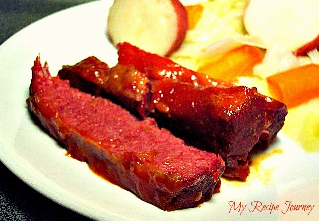Glazed Corned Beef and Cabbage