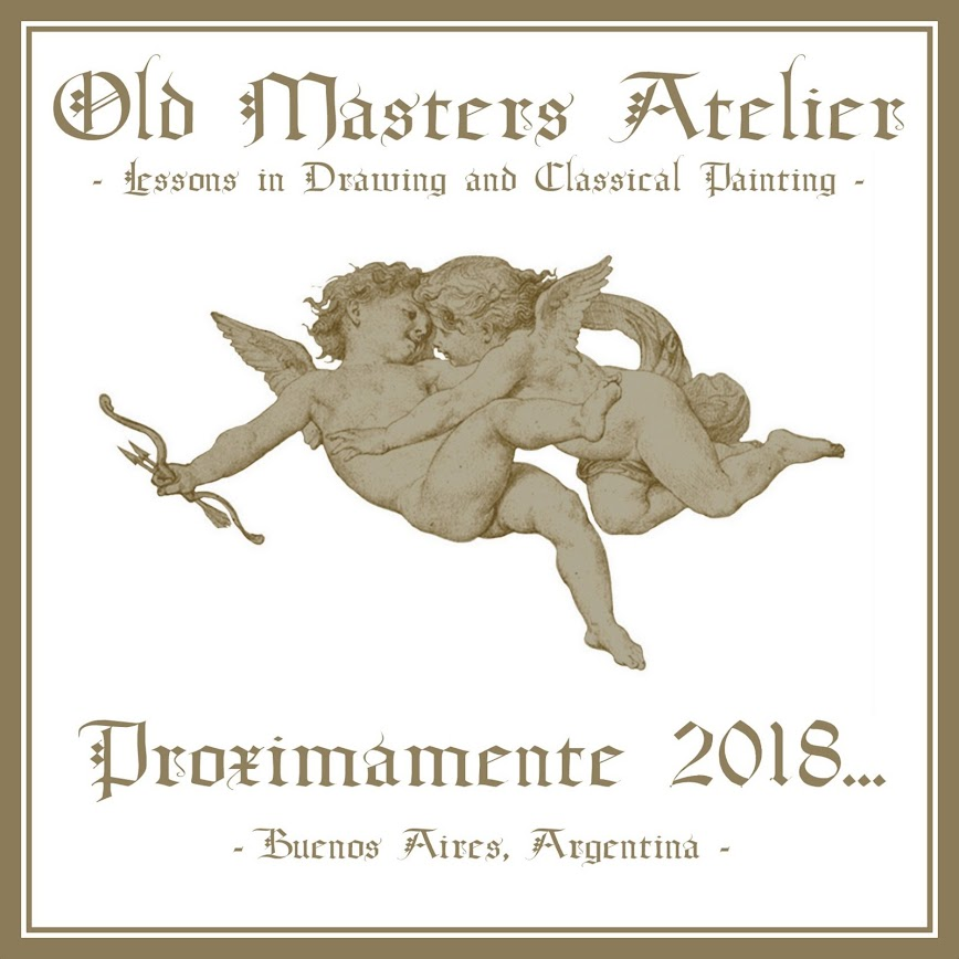 OLD MASTERS ATELIER - LESSONS IN DRAWING AND CLASSICAL PAINTING - BUENOS AIRES, ARGENTINA -