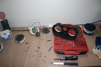 Desmontando o painel do Chevette S/R