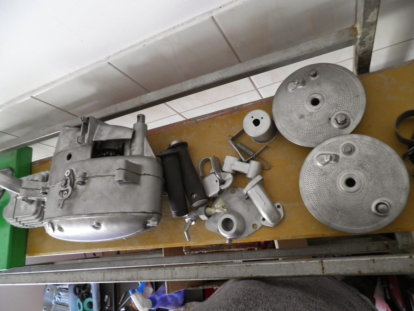 Jawa silnik, piasty i inne - oczyszczone