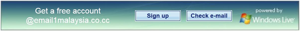 Buat Email @1Malaysia Dengan Domain Sendiri Secara PERCUMA!!!