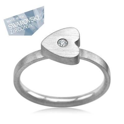 biżuteria YES pierścionek serce na prezent walentynkowy 2016 netstylistka modna biżuteria
