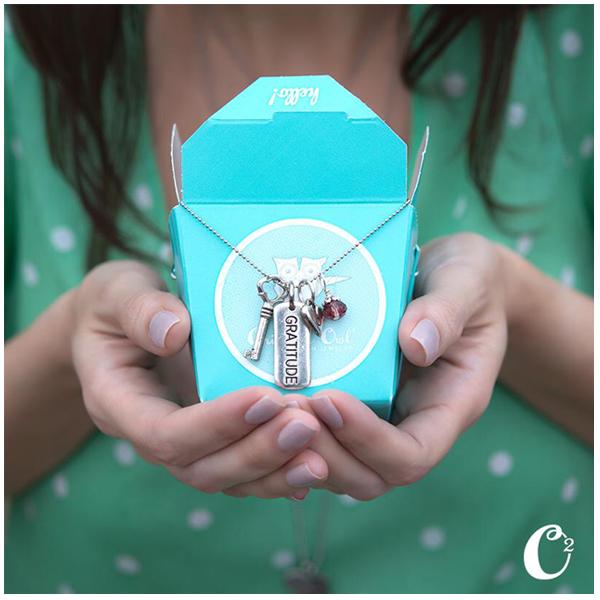 Share Gratitude Origami Owl Tagged Necklace | Shop StoriedCharms.com