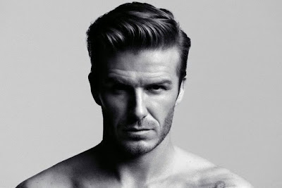 Gaya Rambut Pomade David Beckham