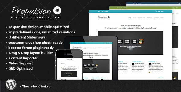 Propulsion business & eCommerce WordPress Theme Free Download by ThemeForest.