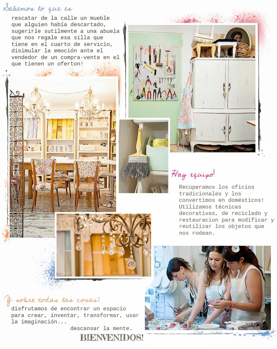 El taller aires de bohemia - El taller de pinero ...