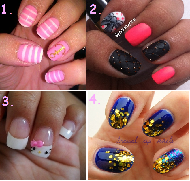 Glamour Girl Reviews: Top 20 Nail Designs on Pinterest!