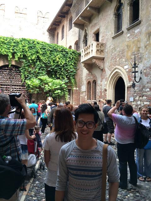 wisata, Juliet house, balcony, verona, italy