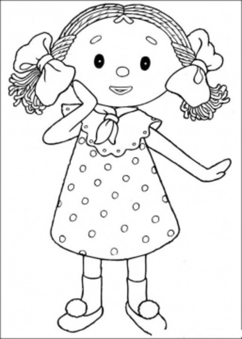 kawaii girl coloring pages - photo#21