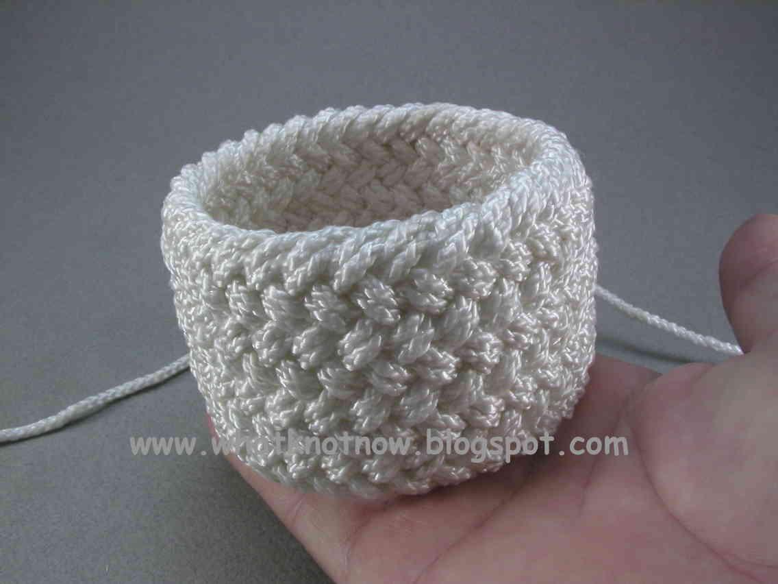 Free Crochet Patterns Using Nylon Thread : Crochet nylon cord
