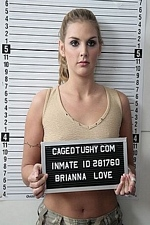 "Mugshot-Brianna Love humiliating cavity search in prison - ""Caged Tushy"""