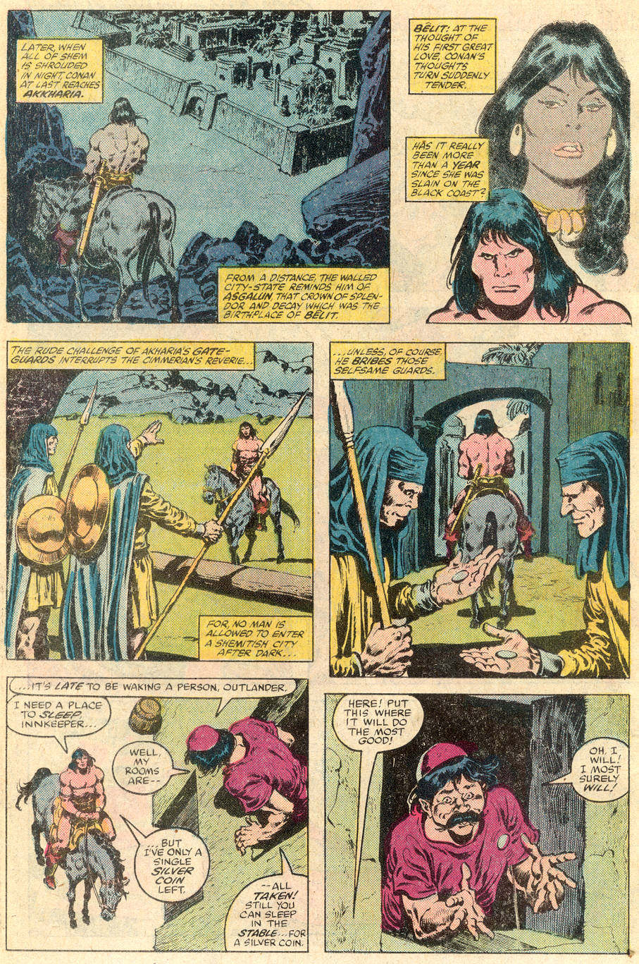 Conan the Barbarian (1970) Issue #115 #127 - English 5